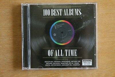 100 Best Albums of All Time - Bob Dylan. Nirvana, Radiohead, REM      (Box