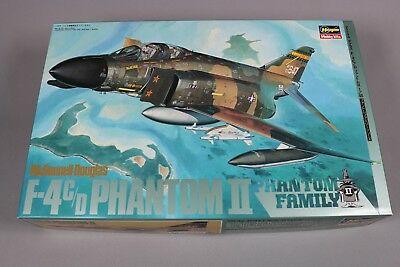 ZF030 Hasegawa 1/48 maquette avion P06:1800 mcdonnell douglas F-4 C/D phantom II