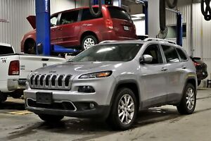 2018 Jeep Cherokee LIMITED * V6 * 4X4 * CUIR * BANCS VENTILES *