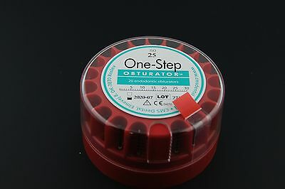 One-step Endo Obturator Refill 25 Pkg Of 20 Cms Dental Osr2025