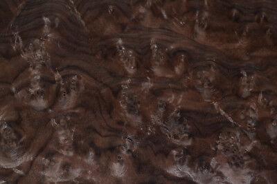 Walnut Burl Raw Wood Veneer Sheets 12 X 14 Inches 142nd Thick  E4704-41