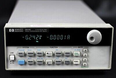 Agilent Hp 66311d Mobile Communication Dc Source Power Supply 15v 0-3a