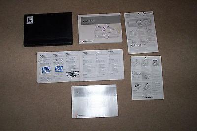 vauxhall zafira pack manual service wallet