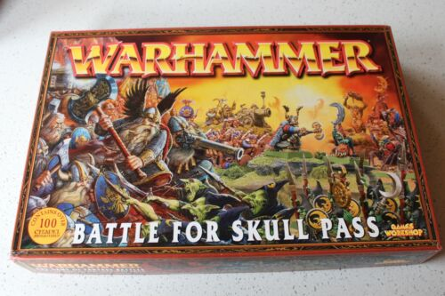 Games Workshop Warhammer Battle For Skull Pass New Boxed Complete Unused Game GW