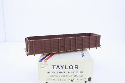 Taylor of Canada HO Scale 36' Wood Gondola Built Craftsman Kit G100 Nice](Wood Kits)
