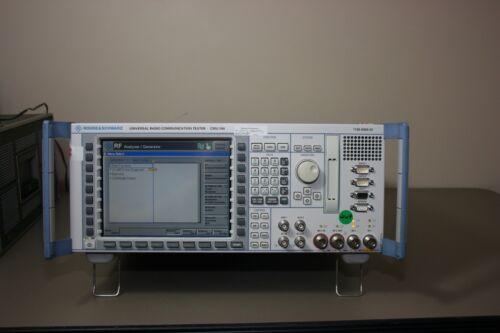 Rohde Schwarz Cmu200 Gsm, Wcdma, Audio, Bluetooth, Wb Amr, Calibrated & Warranty