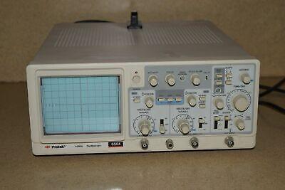 Protek Model 6504 40 Mhz Oscilloscope Scope 5a