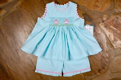 NEW Remember Nguyen Pig Smocked Outfit 18 months *LAST ONE* RN498](Pig Outfit)