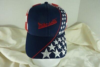 Mikesell's Snacks Hat Cap Patriotic Potato Chip Dayton Ohio  Slide - Patriotic Snacks