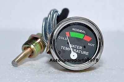Water Temperature Gauge For Massey-ferguson Tractor Mf 20 30 31 40 415 Te20 To35