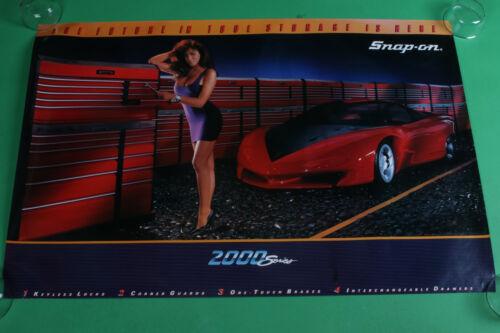 "Vintage 1989 Snap On Tools SSX1369 Series 2000 Pontiac Banshee poster 39""x26"""