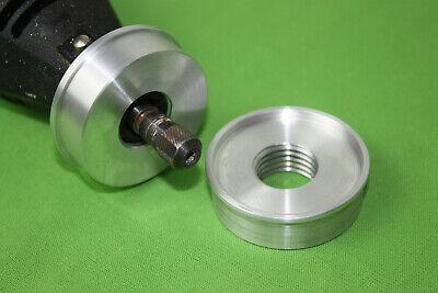 2 Stk bohren,schleifen Stahl   Adapter von Dremel auf 20mm  Proxxon