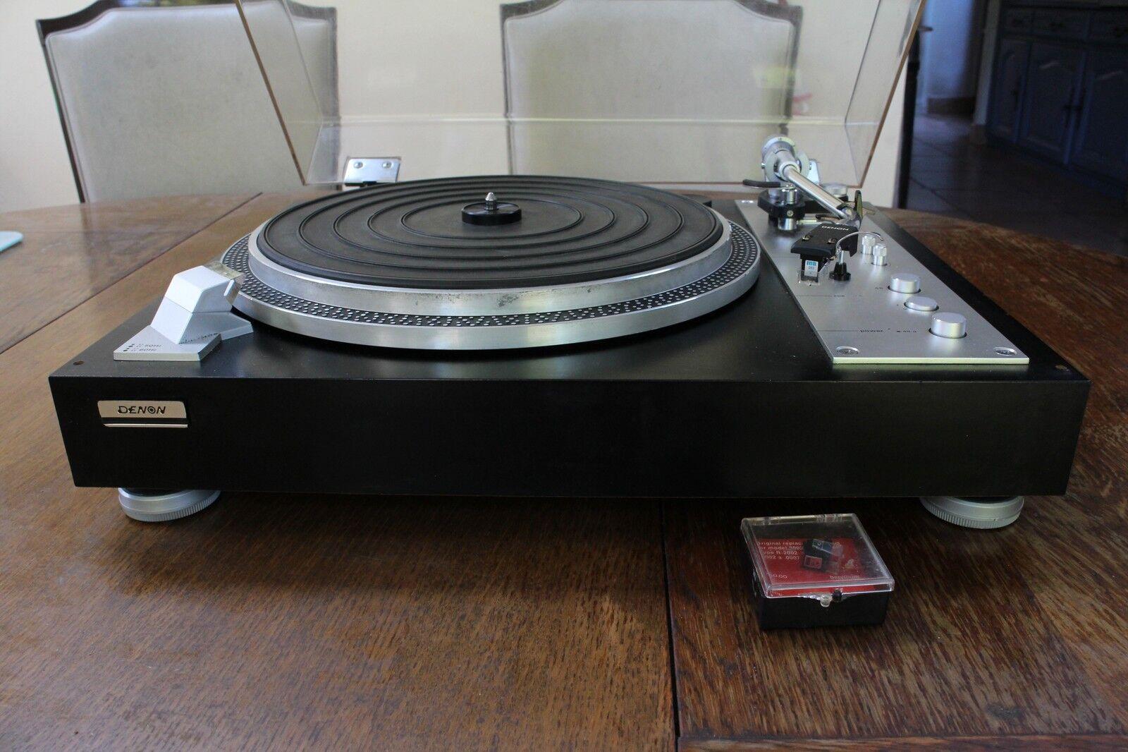 platine vinyle tourne disque denon sl 7d eur 280 00. Black Bedroom Furniture Sets. Home Design Ideas