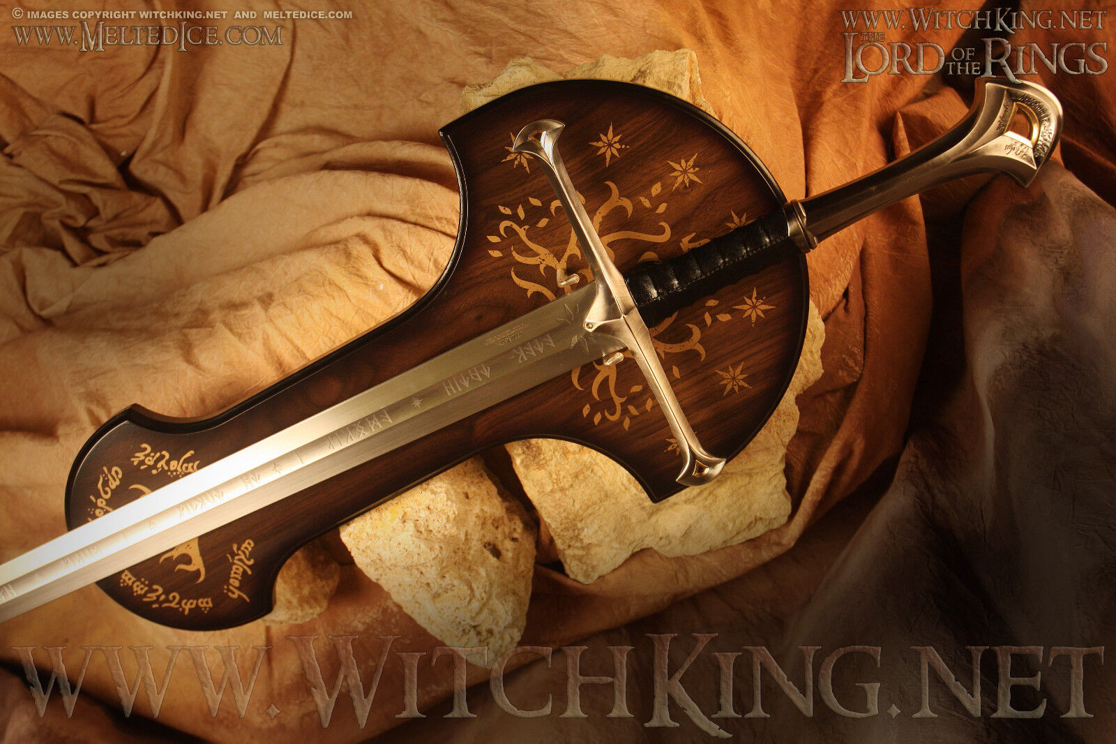 Anduril Sword of Aragorn/Lord of the Rings/LOTR/Weta/United Cutlery/UC1380
