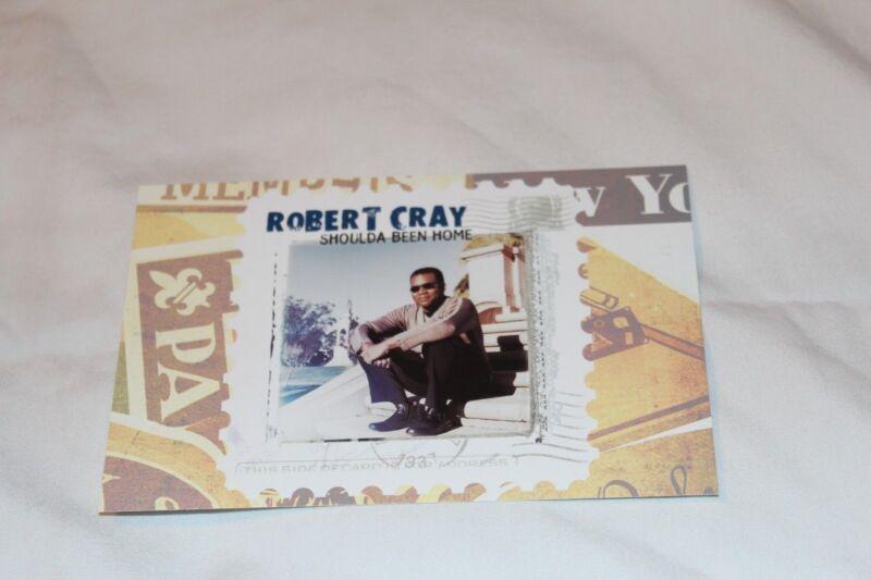 The Robert Cray Band Promo Postcard-SHOULDA BEEN HOME