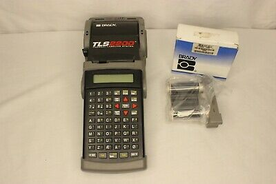 Brady Tls2200 Portable Handheld Thermal Label Printer 203 Dpi - No Power Supply