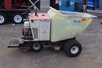 Miller Mb16 Concrete Buggy Asphalt  Concrete Scootcrete