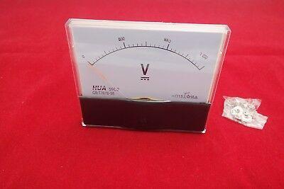 Dc 0-1500v 1ma Analog Voltmeter Analogue Voltage Panel Meter 100x120mm 59c2