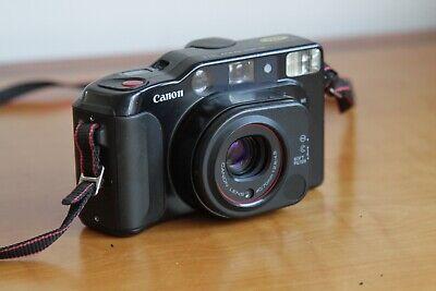 Canon Sure Shot Tele - Vintage Point & Shoot 35mm Film Camera - AF35M Cousin