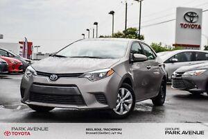 2016 Toyota Corolla LE CAMÉRA DE RECUL*BANCS CHAUFFANTS*