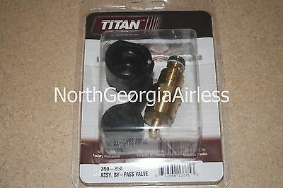 Titan 700-258 By-pass Valve Assembly Oem 700258 For Titan 440 And 640