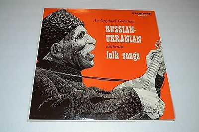 Russian-Ukranian Authentic Folk Songs~Theo Zarkevich~Standard~FAST SHIPPING