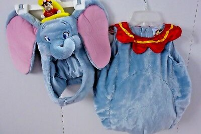Disney DUMBO Plush Elephant Costume - Baby 12-18 - Baby Dumbo Kostüm