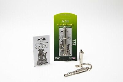 ACME 535 Silent DOG Puppy Training WHISTLE Command Adjustable High Pitch gun