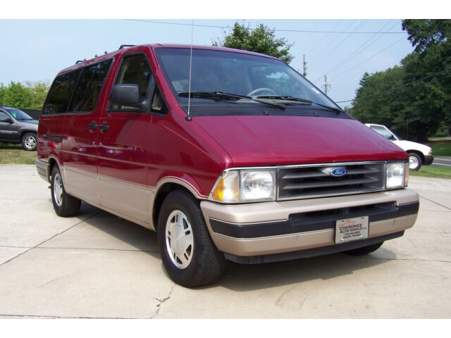 Ford : Aerostar EDDIE BAUER 65 PHOTOS 1 OF THE BEST MUST SEE A GEM A-PRISTINE-1-OWNER-80K-EXT-LENGTH-DUAL-AC-LOADED-QUADS-SEAT-BED-DIG-DASH-WAGON