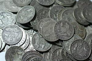 200x Australian Silver Pre KGV Threepence 3d Bulk Lot of Coins 1910 - 1936