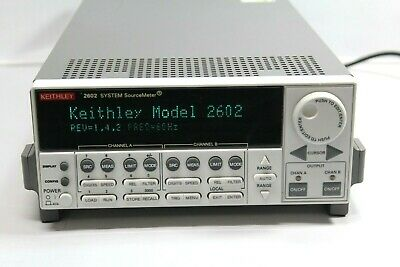 Keithley 2602 System Sourcemeter Excellent Free Shipping