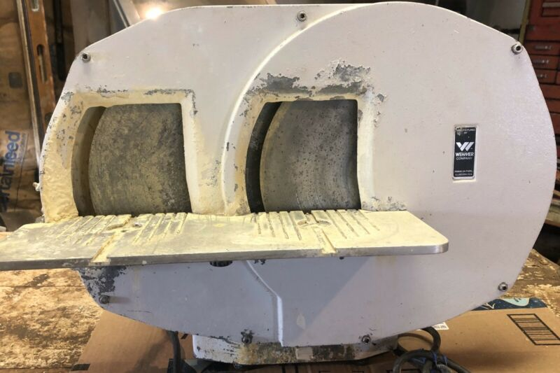 Wehmer Dual Wheel Model Trimmer Dental Lab Ortho