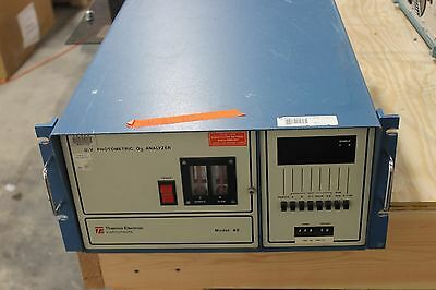 Thermo Electron Model 49 Uv Photometric O3 Ozone Analyzer