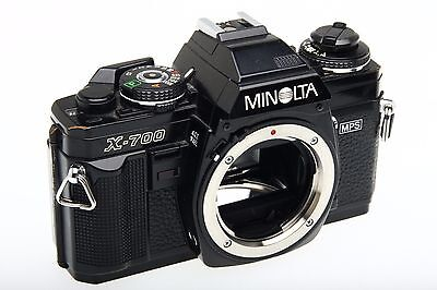 1 One Minolta X-700 Classic 35mm Manual Camera Body - Working Great!