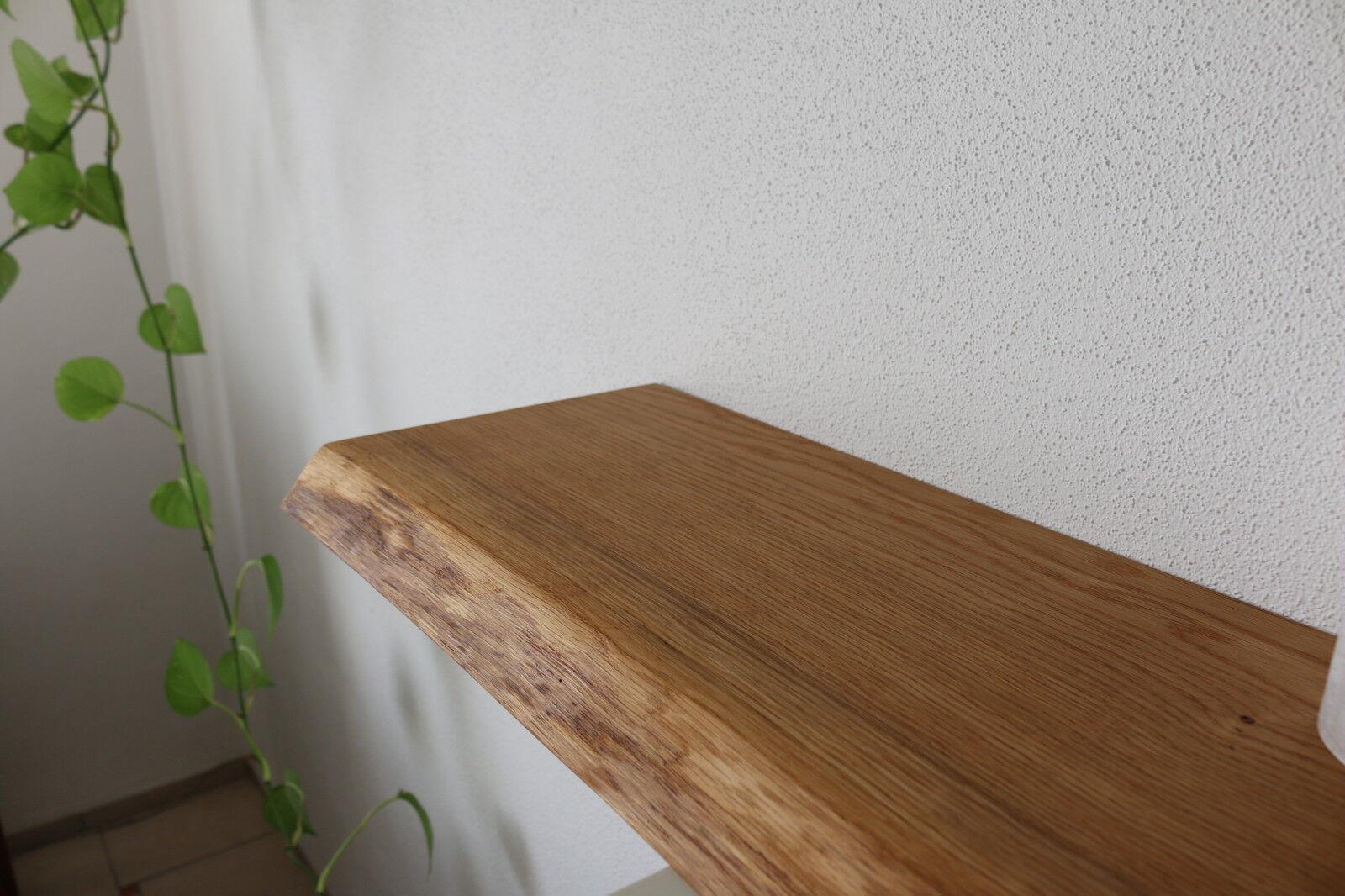 wandboard eiche wild massiv holz board regal steckboard regalbrett baumkante eur 95 00. Black Bedroom Furniture Sets. Home Design Ideas