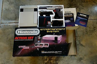 Nintendo Entertainment System (NES) Action Set Complete in Box Tested