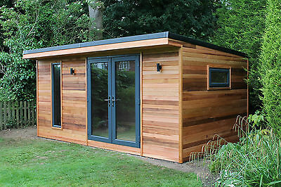 Log cabins collection on ebay for Garden rooms on ebay