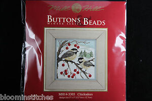 Mill Hill Buttons & Beads Winter Series 2013 Chickadee Counted Glass Bead Kit