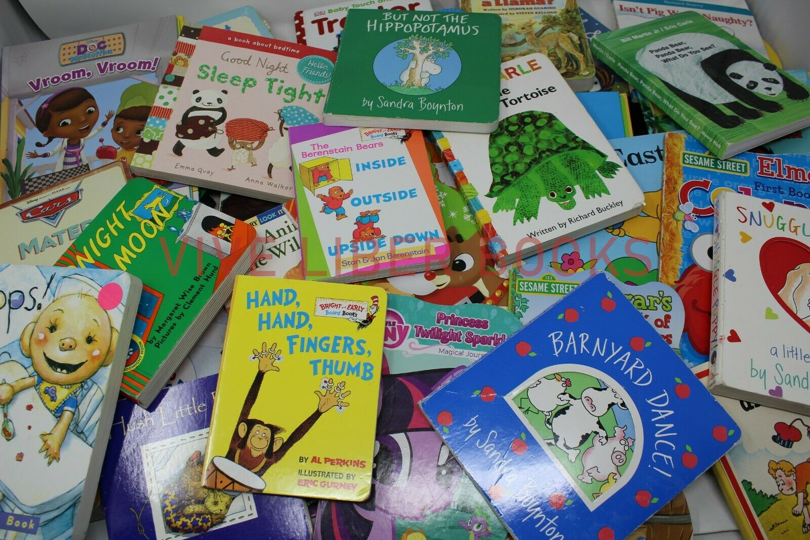 Lot of 20 - Board Books for Children's/ Kids/ Toddler Babies