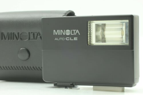 [MINT in CASE] Minolta CLE Auto Electro Flash For CLE CL From JAPAN