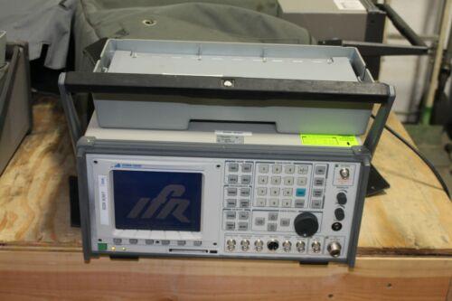 IFR COM-120C Communications Service Monitor W/ Carry Bag