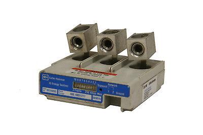 Cutler Hammer 4D13102g03 Iq Energy Sentinel J Frame 250A 480V 50 60Hz