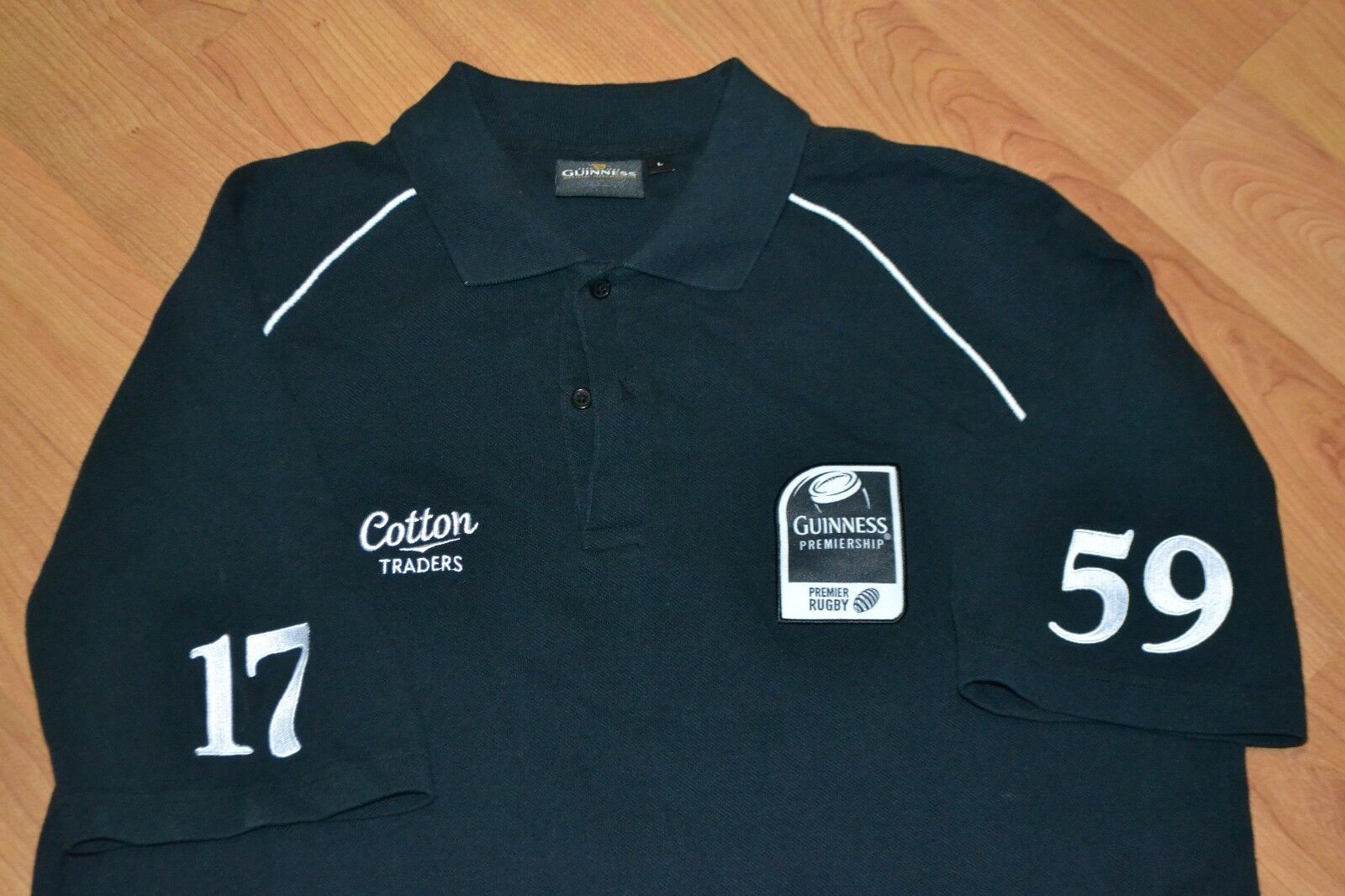 2bb9726b0fd Guinness Rugby Shirt Cotton Traders – EDGE Engineering and ...