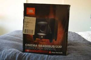 JBL Harman Cinema SB400SUB/230 subwoofer and soundbar