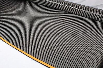 Real Carbon Fiber Fabric 2x2 Twill 5.7oz 3k 36 X 50 1 Yard Automotive Parts