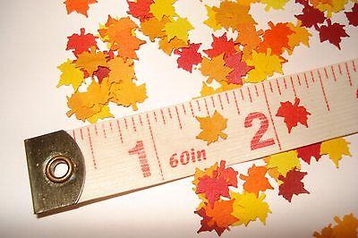 100 + Dollhouse 1:12 scale -  Miniature Fall Leaves  - Maple Leaves