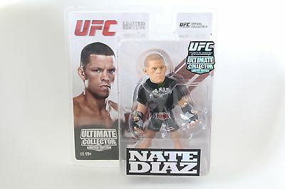 ROUND 5 MMA UFC NATE DIAZ ACTION FIGURE ULTIMATE COLLECTOR LIMITED EDITION 750