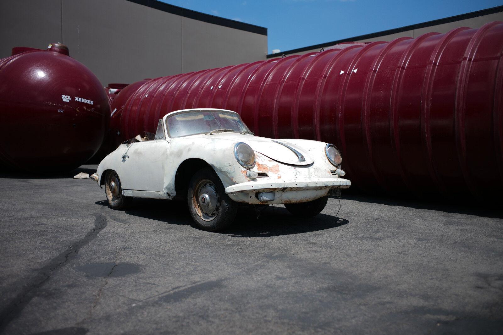 1960 Porsche 356 CABRIOLET REMOVABLE HARDTOP 1960 PORSCHE  CABRIOLET 1600-SUPER BIG TANK 80 LITER Numbers Matching