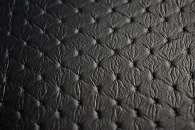 Black Diamond Embossed Auto Pro Vinyl Fabric Automotive Seat Cover BTY 54