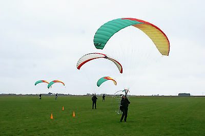 Ground Handling Training Paraglider Paramotor Tandem Harness (No Carabiners)